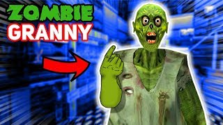 Zombie Granny WANTS TO BE OUR FRIEND!?!?! (Zombie Mod) | Granny The Mobile Horror Game (Mods)