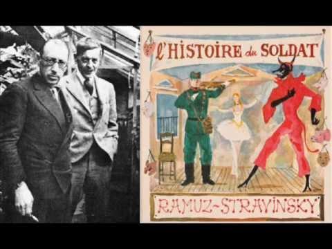 Stravinsky - L'Histoire du Soldat (version originale), huit extraits