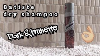 BATISTE DRY SHAMPOO FOR BRUNETTES REVIEW | Jaogly