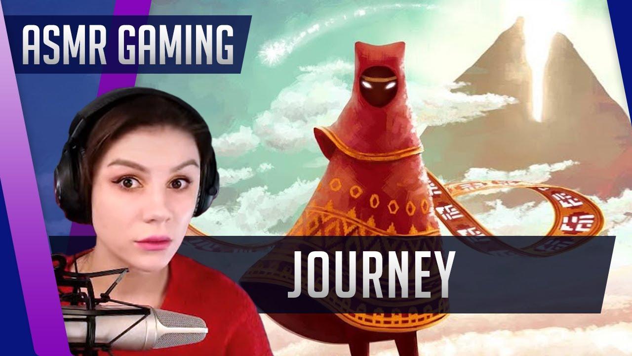 ASMR Gaming 🎮 Прохождение Journey (Путешествие) Шепот