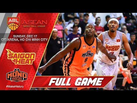 Saigon Heat vs. Mono Vampire | LIVESTREAM | 2017-2018 ASEAN Basketball League