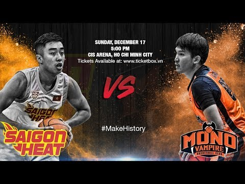 Download Youtube: Saigon Heat vs. Mono Vampire   LIVESTREAM   2017-2018 ASEAN Basketball League