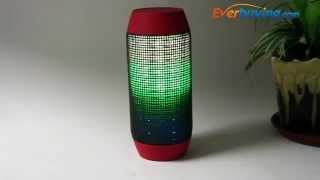 Led Flash Light Wireless Bluetooth Speaker