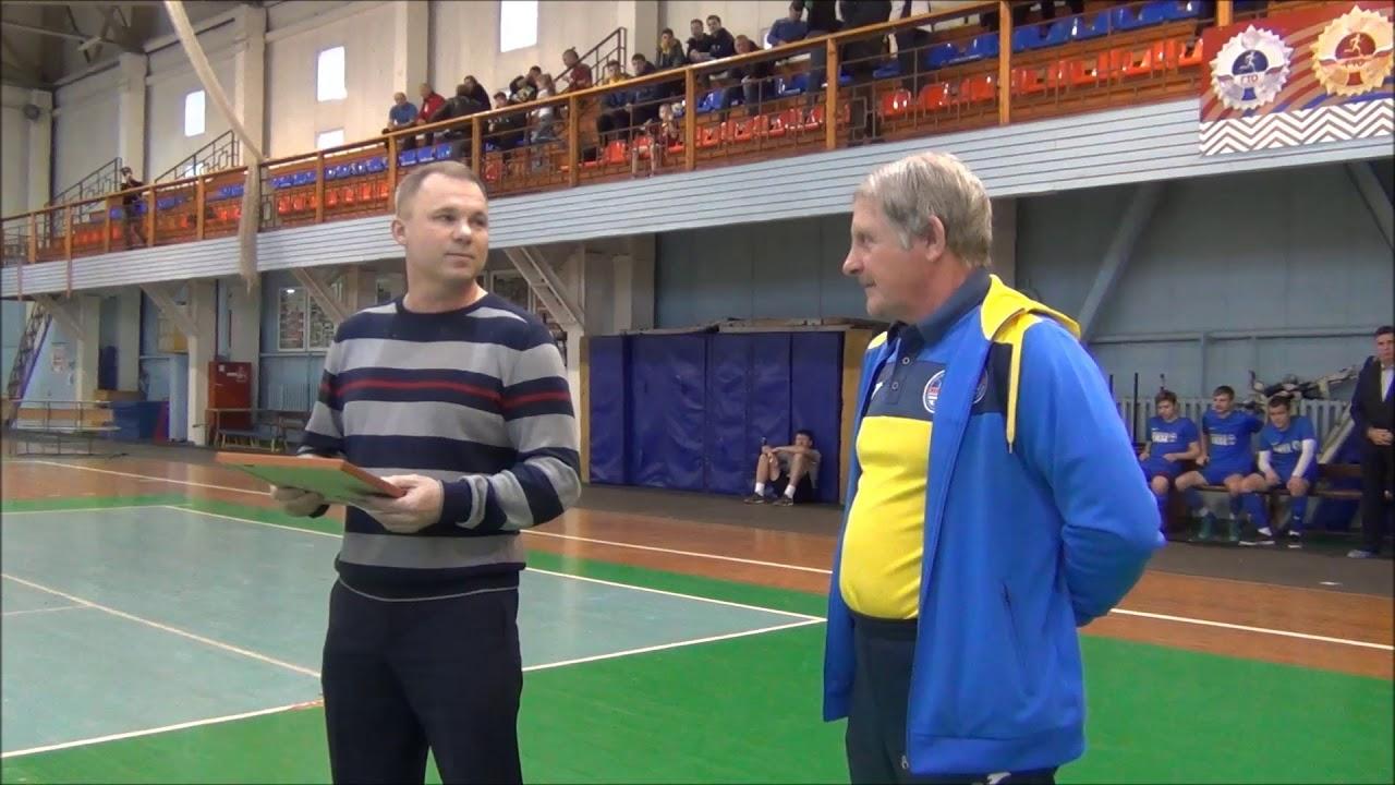 Федерация Футбола Первомайского Района: Поздравление с юбилеем Александра Ивановича Маслова перед