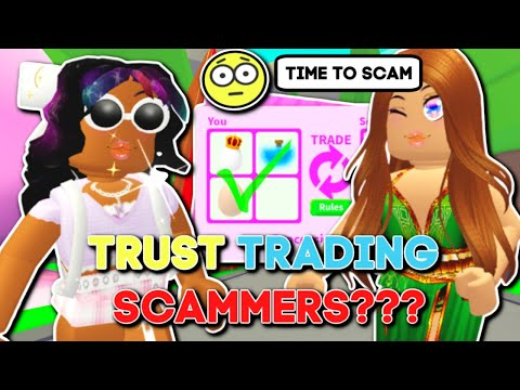 Trust Trading In Adopt Me Looking For Scammers?! (2) Roblox Adopt Me