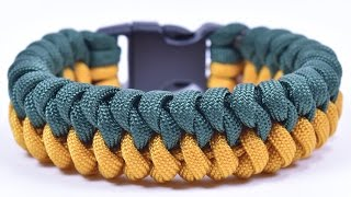"Make the ""Mated Snake"" Paracord Survival Bracelet - Bored Paracord"