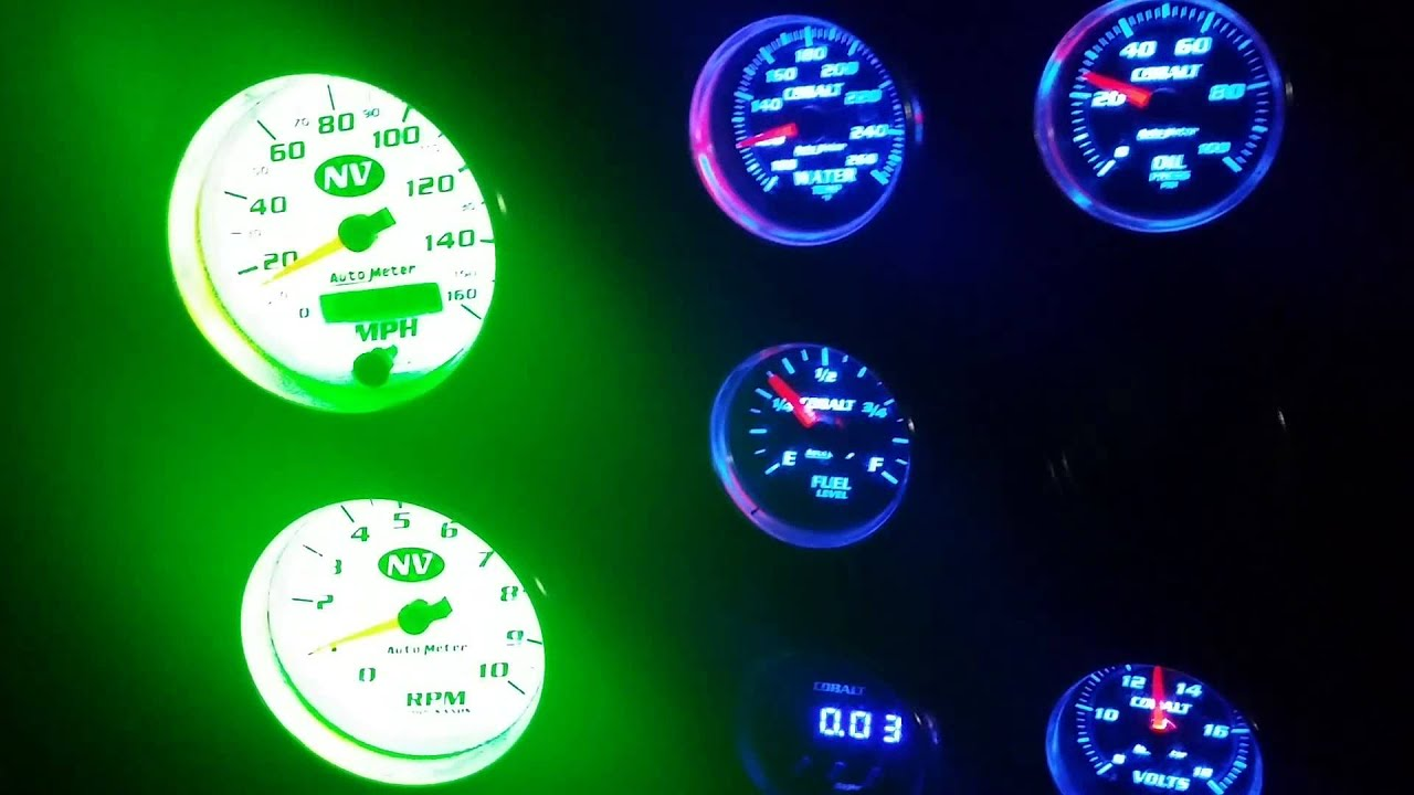 jeep cj5 bill punch gauges [ 1920 x 1080 Pixel ]