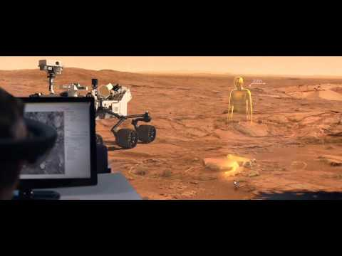 Scientists Can Virtually Wander Around Mars for Miles with HoloLens - VICE