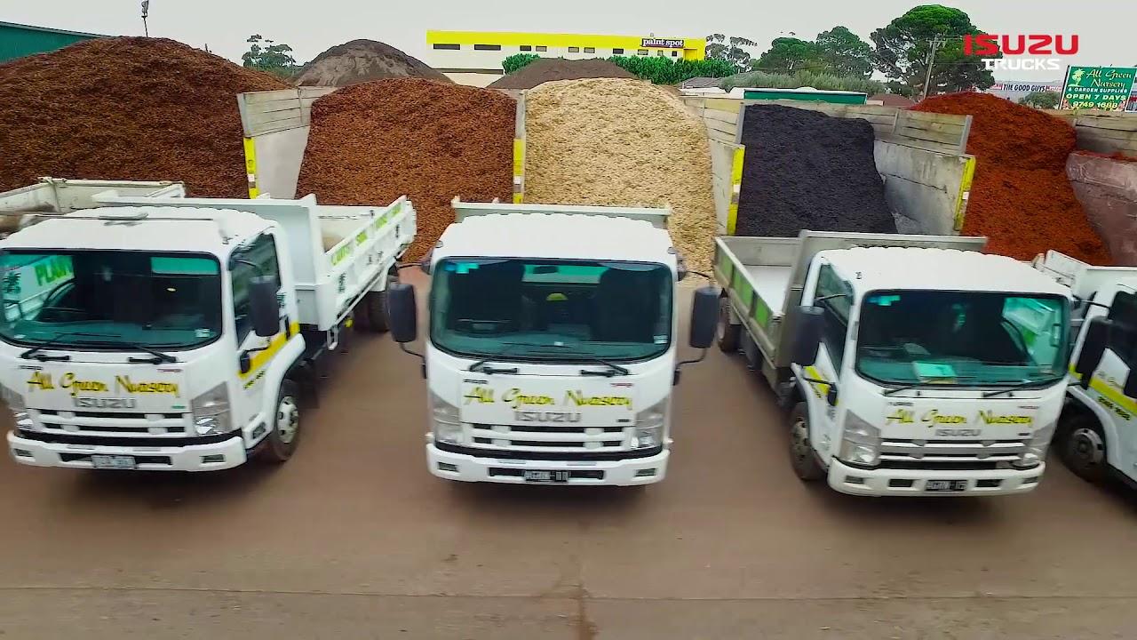 Isuzu Truck Power: All Green Nursery and Zammit Landscaping :: Isuzu  Australia Limited - Isuzu Truck Power: All Green Nursery And Zammit Landscaping :: Isuzu