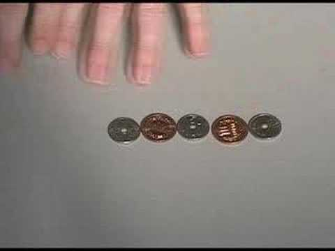 5 Coin Puzzle (three moves)
