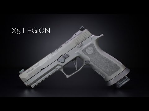 Sig Sauer P320 X5 Legion - Hall Of Fame Worthy?