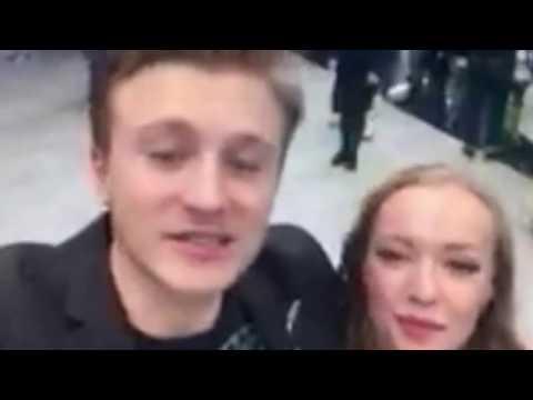 Виктория АГАЛАКОВА и Вячеслав ЧЕПУРЧЕНКО: видеопривет