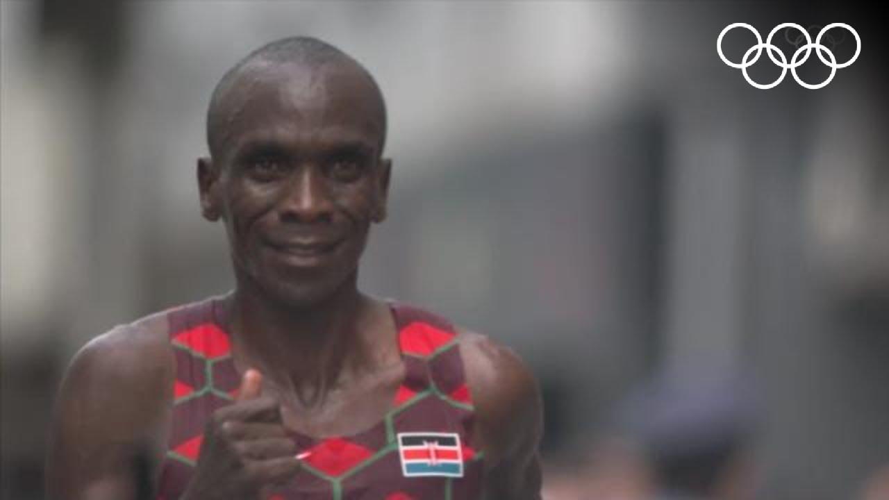 🥇 Kenya's Eliud Kipchoge wins back-to-back marathons 🏃♂️ | #Tokyo2020 Highlights