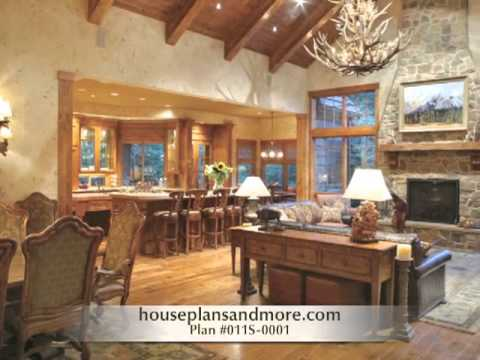 Luxury ranch homes video house plans and more youtube for Executive ranch homes