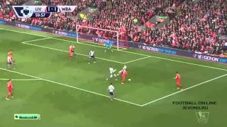 Video Gol Pertandingan West Bromwich Albion vs Liverpool