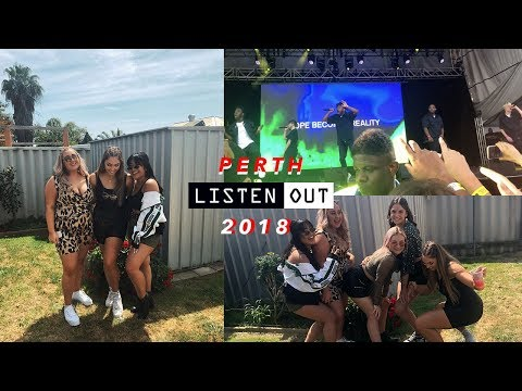 LISTEN OUT PERTH 2018 - Get Ready With Us + Vlog