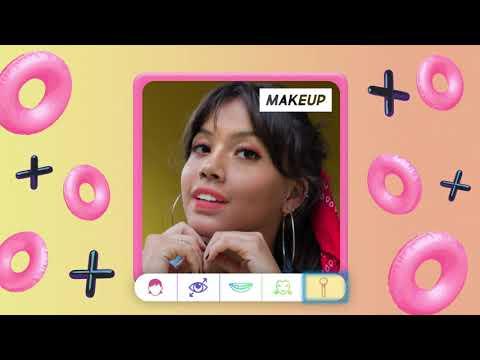 Beauty Makeup Mobile Application by Lyrebird Studio