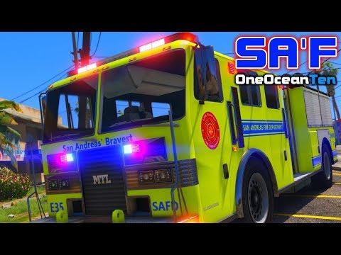 SA'F #96 - The Quarry Shooting   GTA V RP