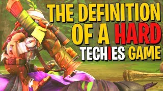 My Comeback Match Was Hard - Techies DotA 2