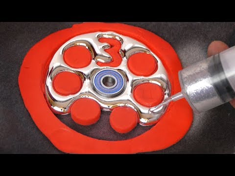 DIY Gallium Fidget Spinner - 3 Million Special