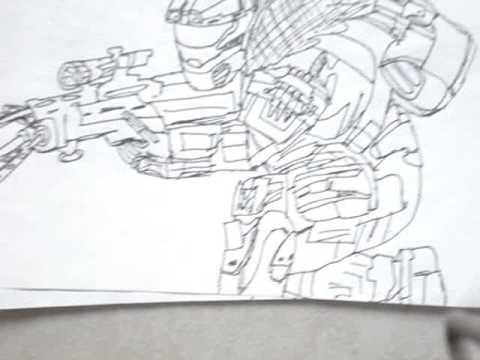 Dibujos De Halo Reach Youtube