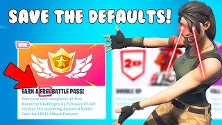 Protecc the remaining DEFAULTS!