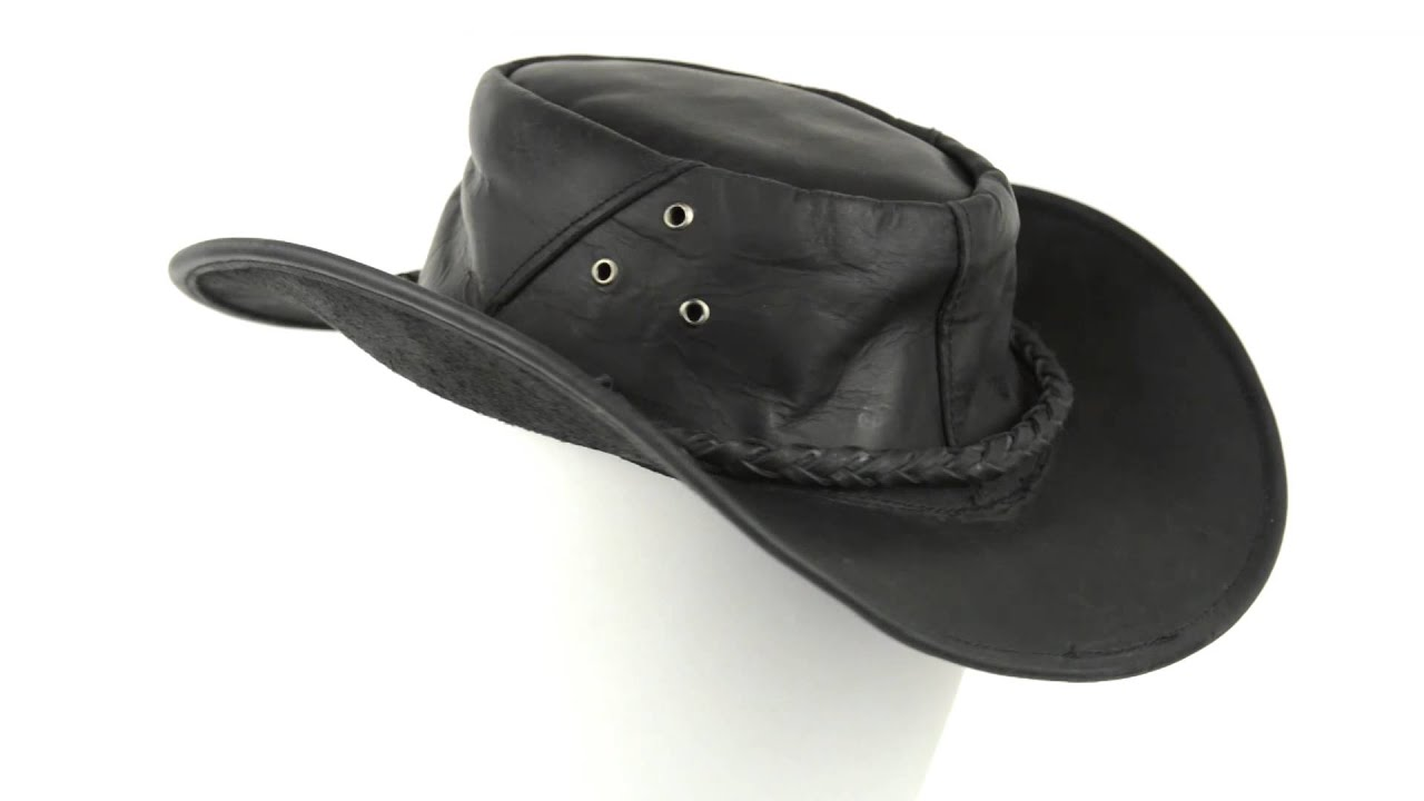 Outback Close To Me >> Cov-Ver Oiled Leather Outback Hat - UPF 50+ (For Men and Women) - YouTube