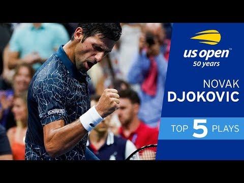 Top 5 Plays Of Week 1: Novak Djokovic