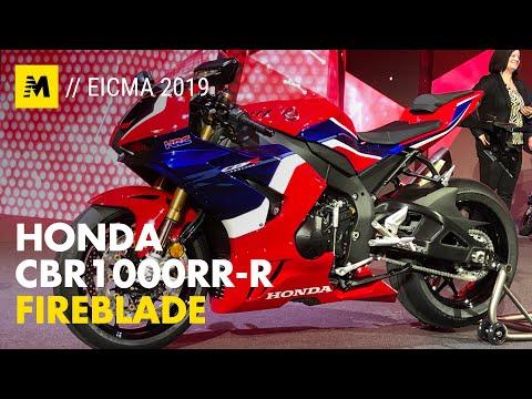 Honda CBR1000 RR-R Fireblade and CBR1000 RR-R SP [ENG SUB]
