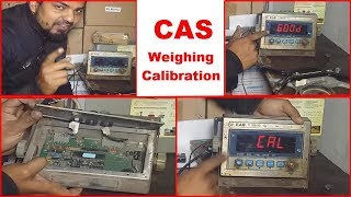 CAS Weighing Indicator Calibration Setting | CAS Digital Weighing Scale Calibration Procedure