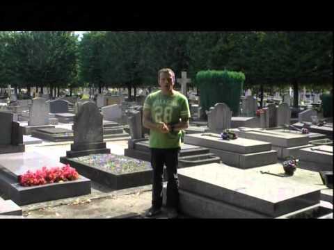 Tombe de Robert Manuel au cimetière de Neuilly