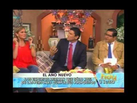 Dr. Cesar Lozano Programa HOY Año Nuevo
