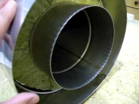 Труба сендвич сталь AISI 321 . AISI 304. Non - rusting pipe.
