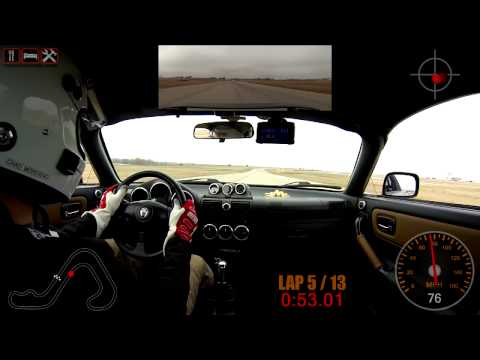 20140208 Track Day - The Drivers Edge, MSR Cresson 1.7CW, Yellow, Session 1