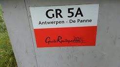 Europäischer Fernwanderweg E9 in Belgien von Brugge über Ostende nach De Panne Erinnerungen
