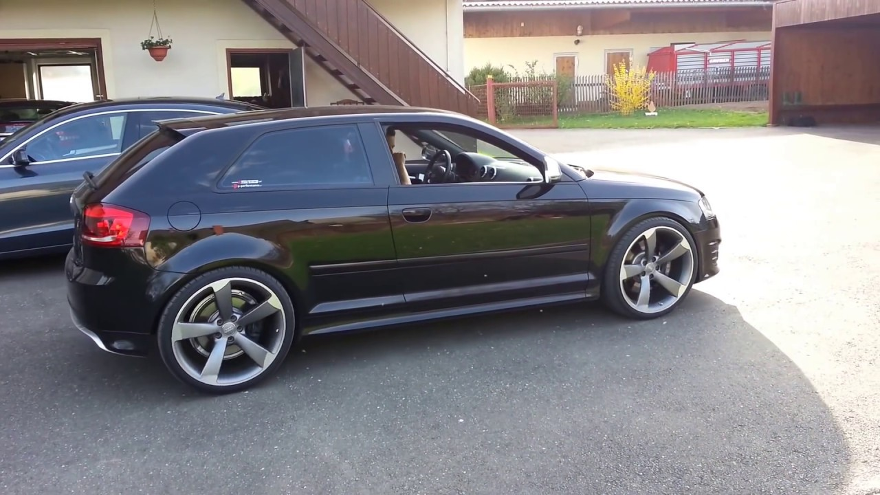 audi s3 mit 20 zoll rs5 rotorfelgen 9j et26 youtube. Black Bedroom Furniture Sets. Home Design Ideas