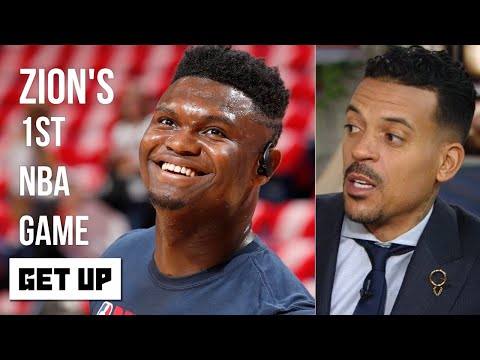 Reacting to Zion Williamson's NBA debut with the Pelicans | Get Up