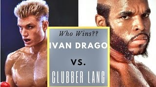 Clubber Lang vs. Ivan Drago! Fantasy Fight predictions from the Mayweather Boxing Club