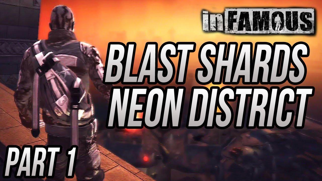 inFAMOUS - Blast Shard Locations