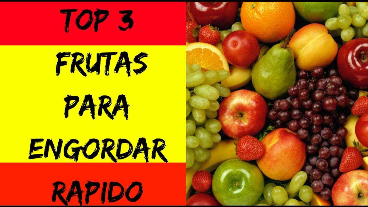 Alimentos para ganhar massa muscular - top 3 frutas para