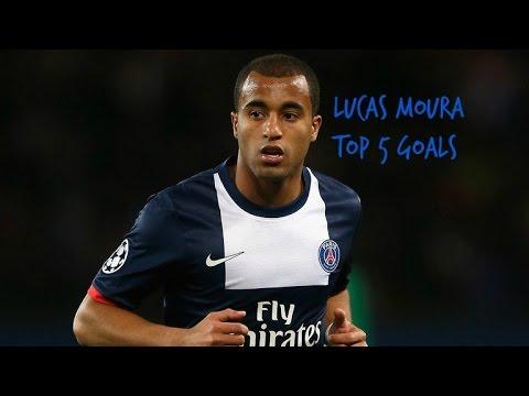Lucas Moura top 5 goals