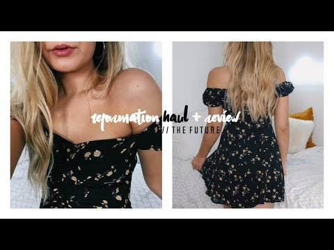 HONEST Reformation Haul + Review // nO MoRe ZaFul chat.
