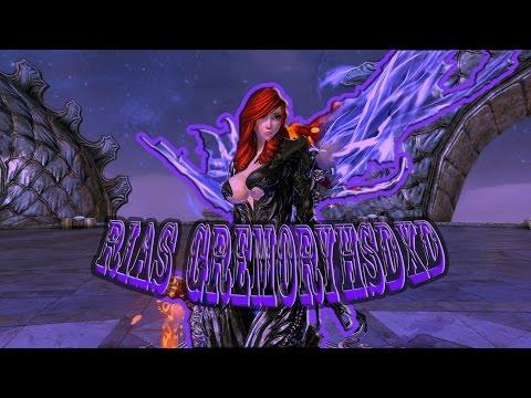 Rias GremoryhsDxD MODO SOULBURN Warlock (BLADE AND SOUL)