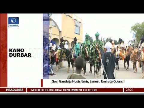 Gov Ganduje Hosts Emir, Sanusi, Emirate Council 25/08/18 Pt.2 |News@10|