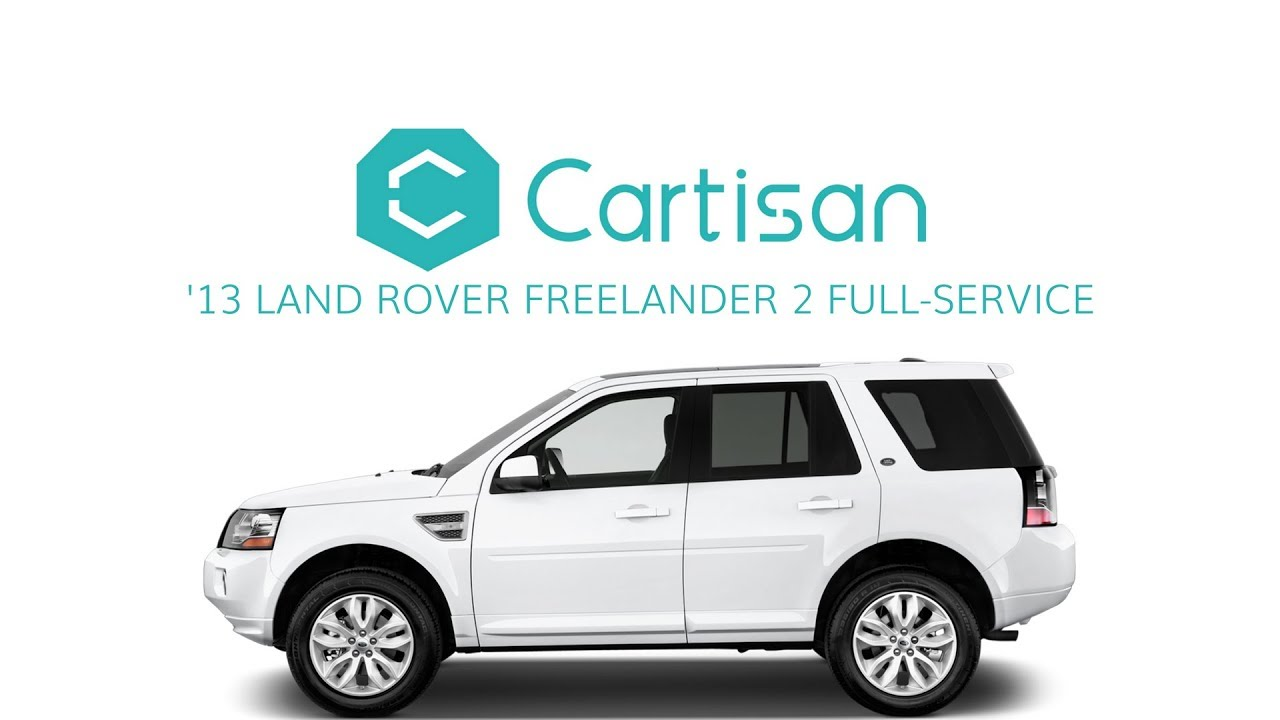 2013 Land Rover Freelander 2 Service by Cartisan
