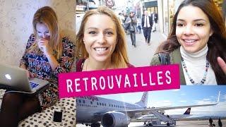 Retour en France & Retrouvailles !!