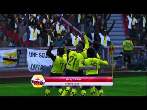 Brunei vs Indonesia  (1-1) on PES 2014