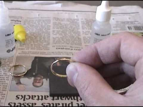 19c549b0267911 Testing gold rings for weight and purity - YouTube