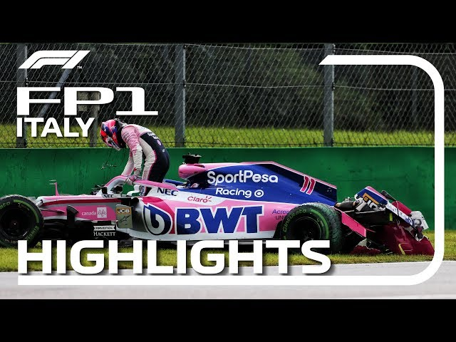 2019 Italian Grand Prix: FP1 Highlights