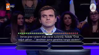 Kim Milyoner Olmak İster 713 Bölüm - Ahmet Yıldırım - Hasan Kızıl - 20 Aralık 2017   Part 1